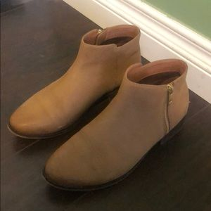 Aldo brown ankle boots